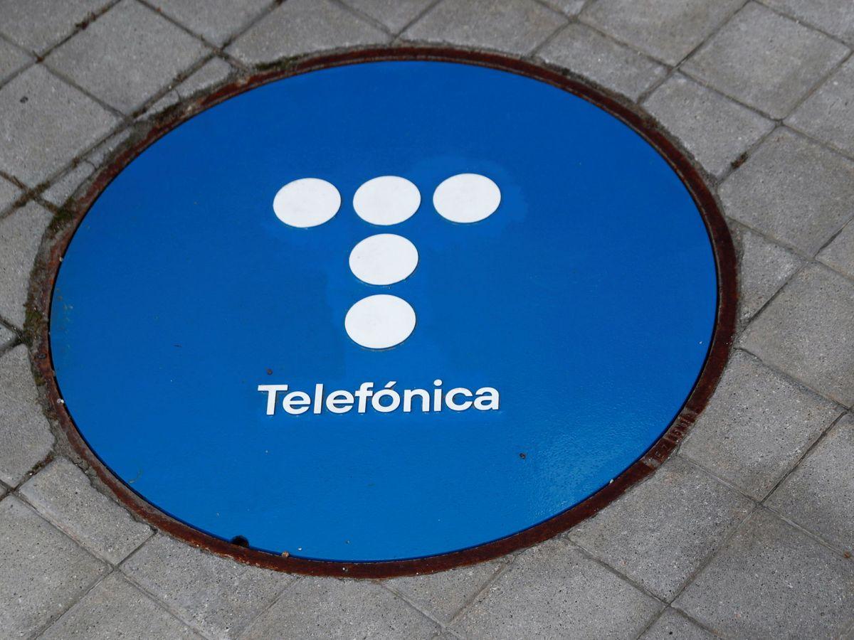 Foto: El logo de Telefónica. (Reuters)