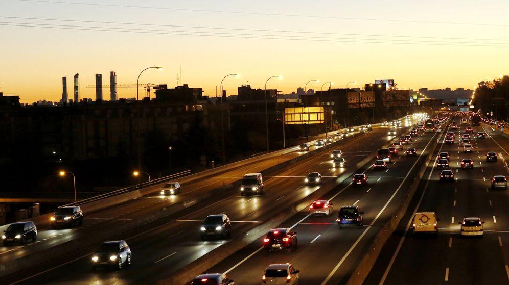 Foto: Tráfico a la entrada de Madrid