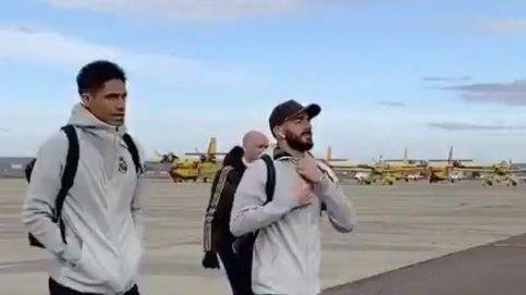 Los mensajes al Real Madrid por ir en avión a Salamanca