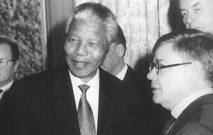 El misterioso empresario francés que liberó a Mandela