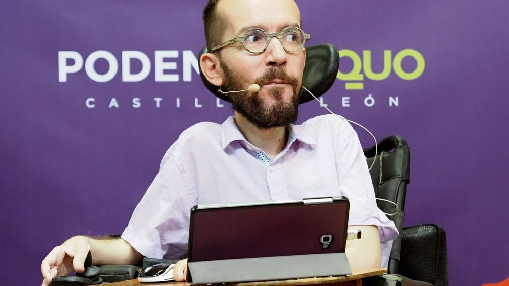 Foto: El secretario de Organización de Podemos, Pablo Echenique. (EFE)