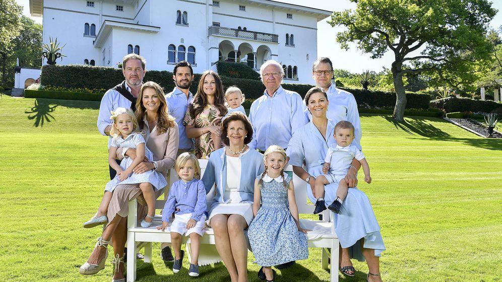 Foto: La familia real sueca en 2017. (Kungahuset)