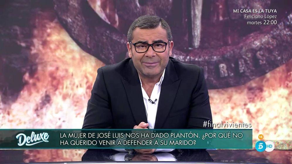 Foto: Jorge Javier Vázquez en 'Sábado deluxe'.
