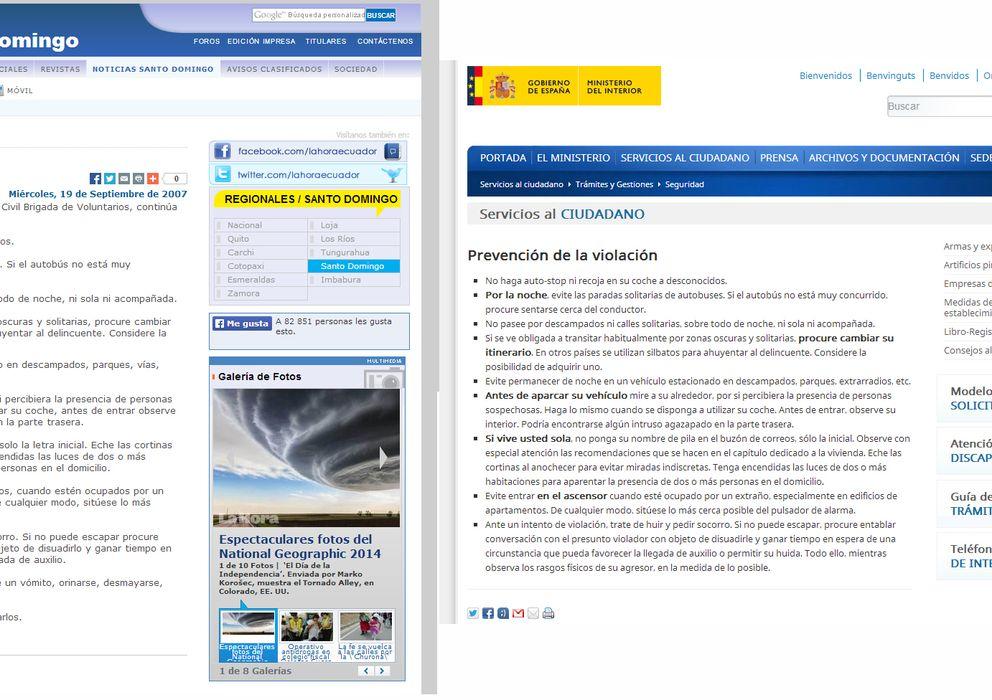 El ministerio del interior le copia a ecuador sus for Ministerio del interior ecuador