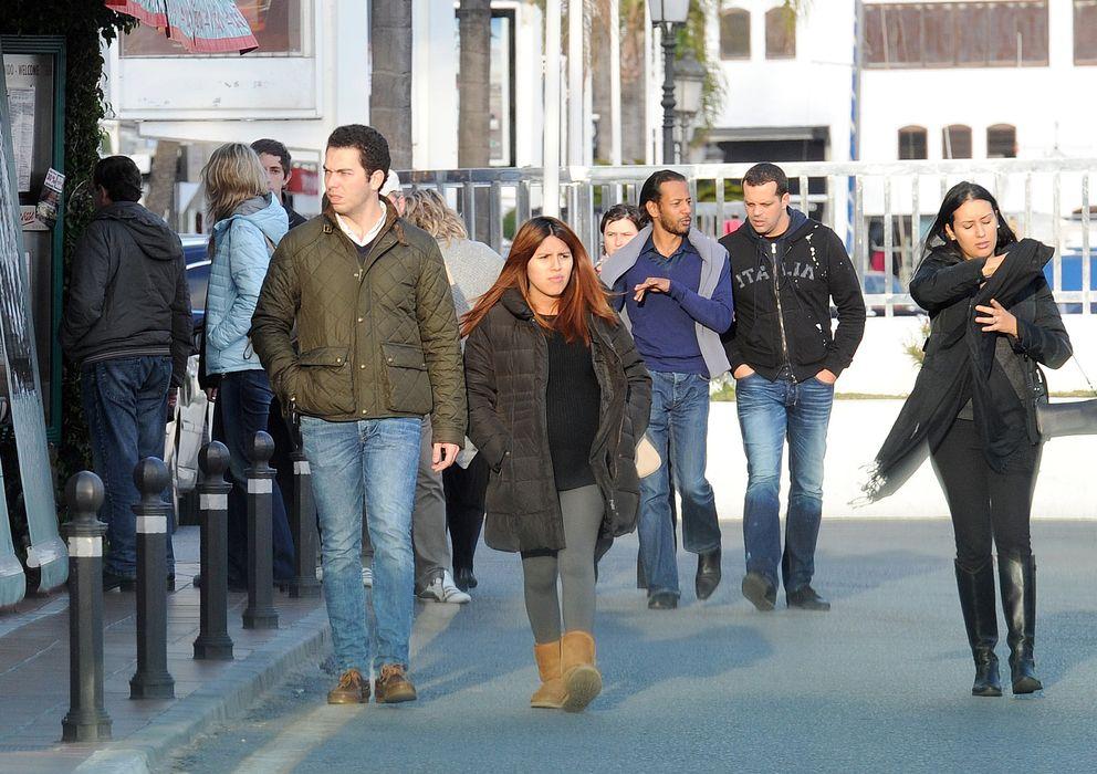 Foto: Chabelita Pantoja pasea por las calles de Marbello junto a Alberto Isla (I.C.)
