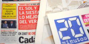 Foto: 'Qué!' y '20 minutos' entran en la UVI tras dejarse 42 millones durante la crisis