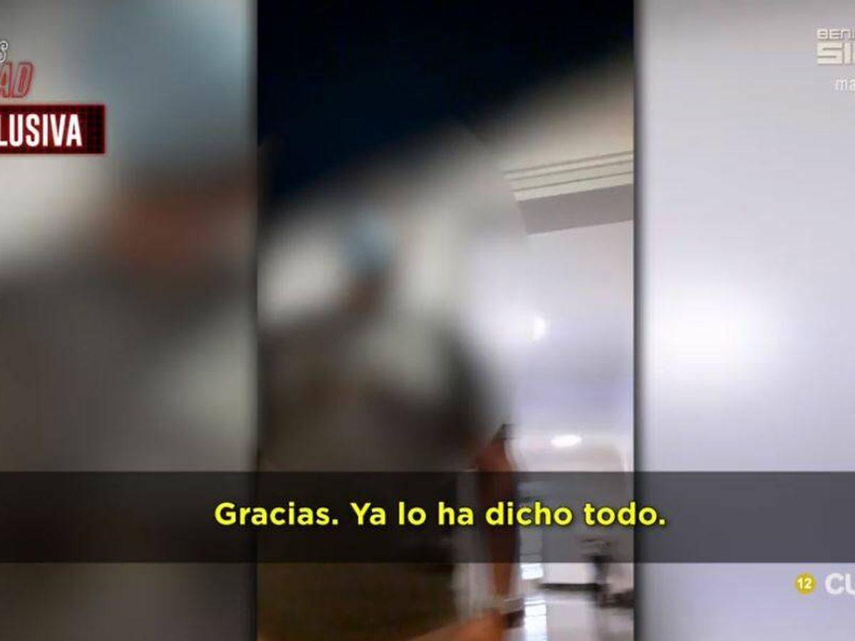 Foto: Uno de los presuntos implicados en la operación Titella. (Mediaset)