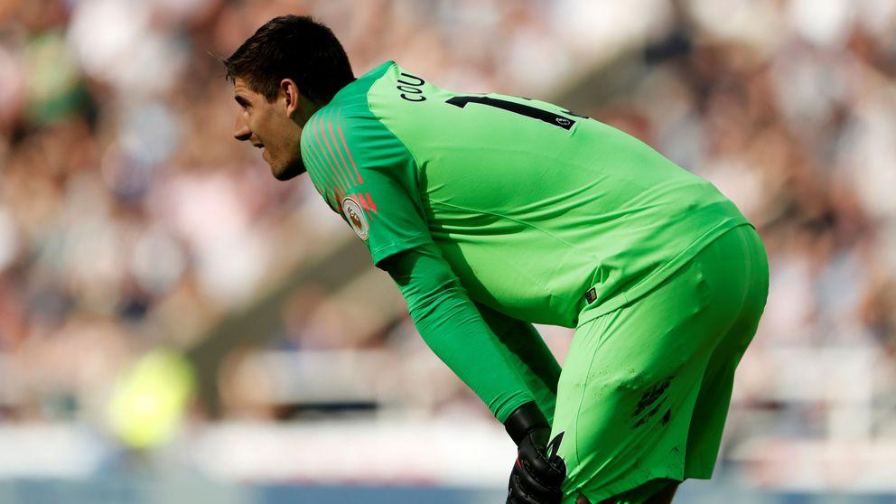 Florentino Pérez se cansa del Chelsea y quiere gratis a Courtois