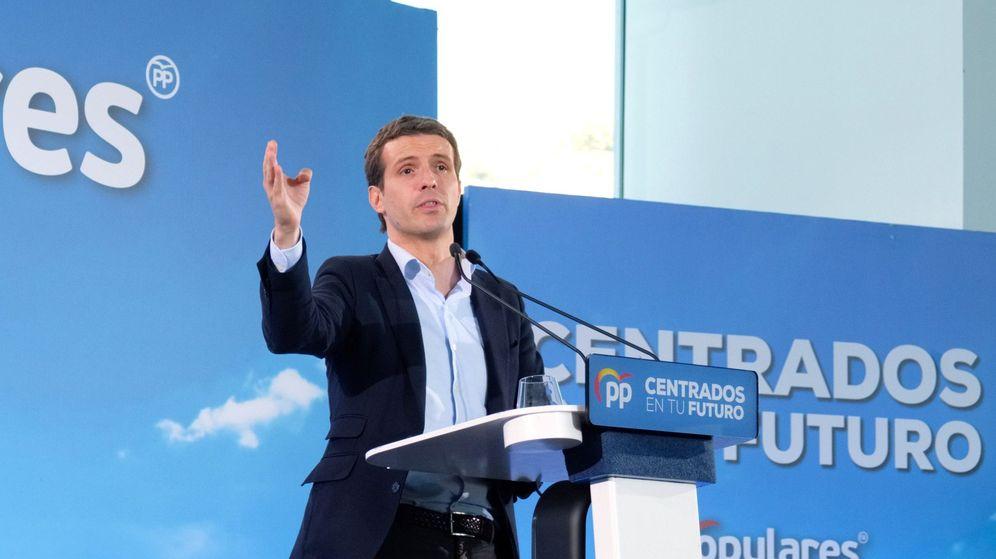 Foto: El presidente nacional del PP, Pablo Casado (Efe)