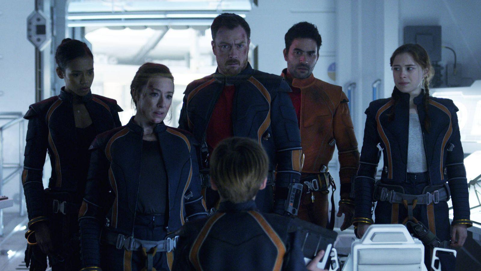 Foto: Imagen del reboot de 'Perdidos en el espacio', que Netflix estrenará en abril. (Netflix)