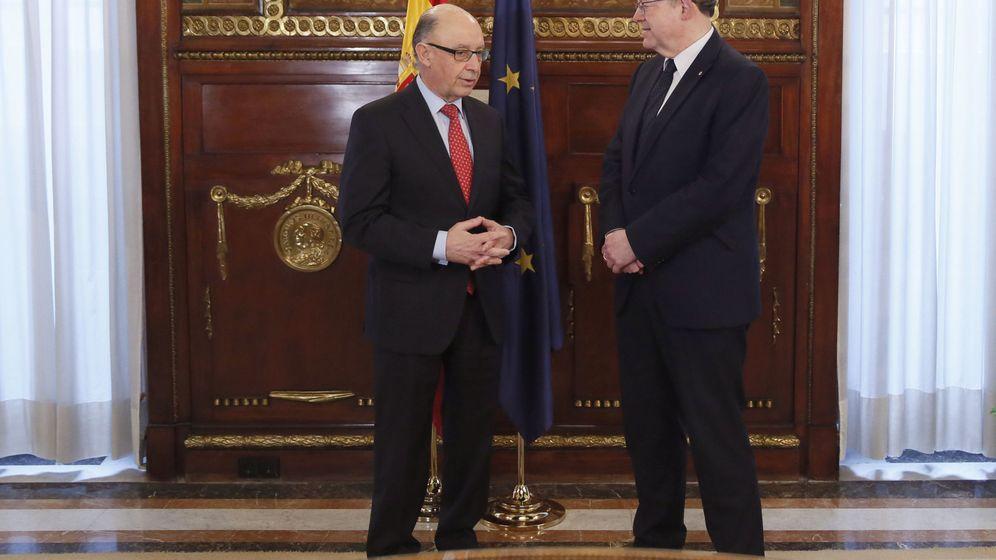 Foto: Montoro, con Ximo Puig la semana pasada en el Ministerio de Hacienda. (EFE)