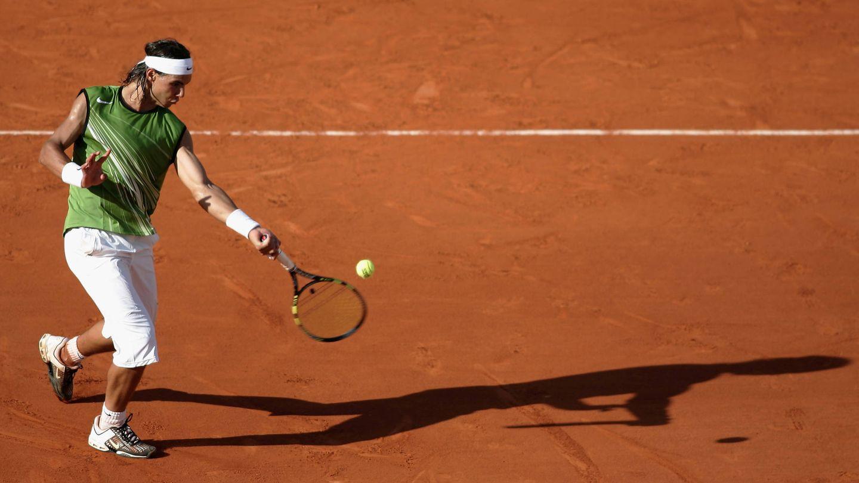 Nadal, en su primer Roland Garros. (Getty)