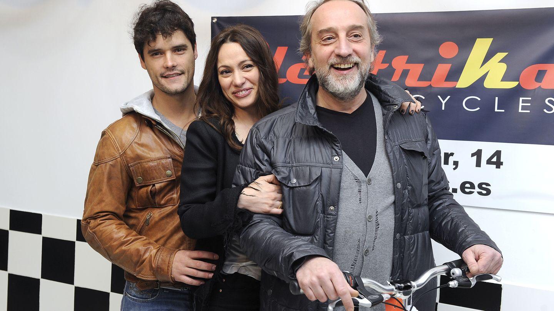 En la presentación de su empresa sus ex Gonzalo Castro y Miguel Abellán (Gtres)