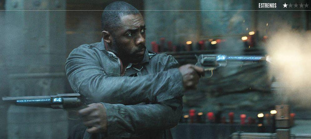 Foto: Idris Elba en 'La torre oscura'. (Sony)