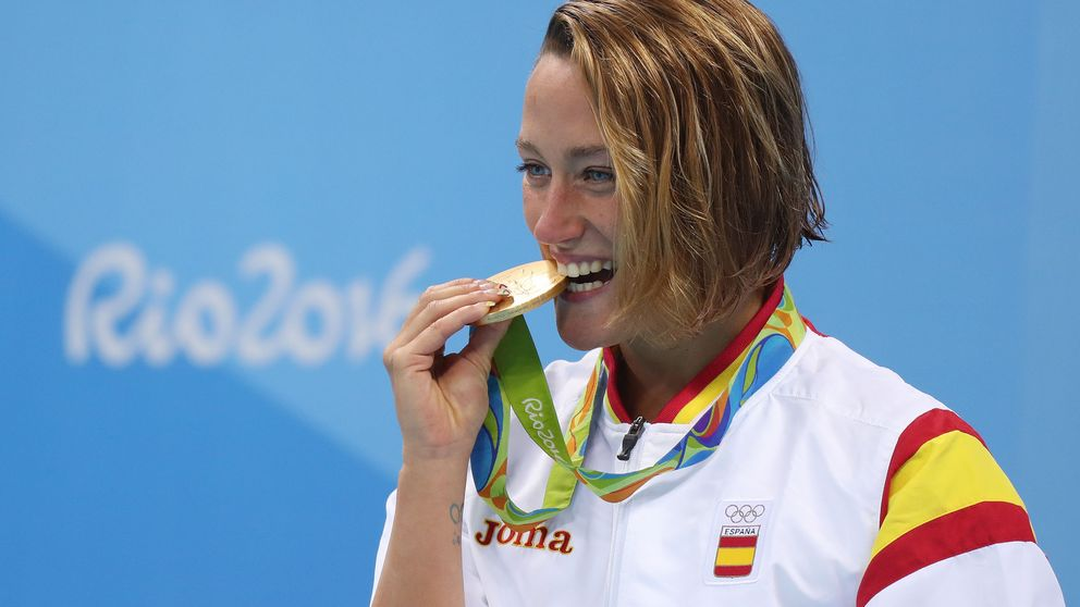 Mireia Belmonte, oro olímpico en 200 mariposa