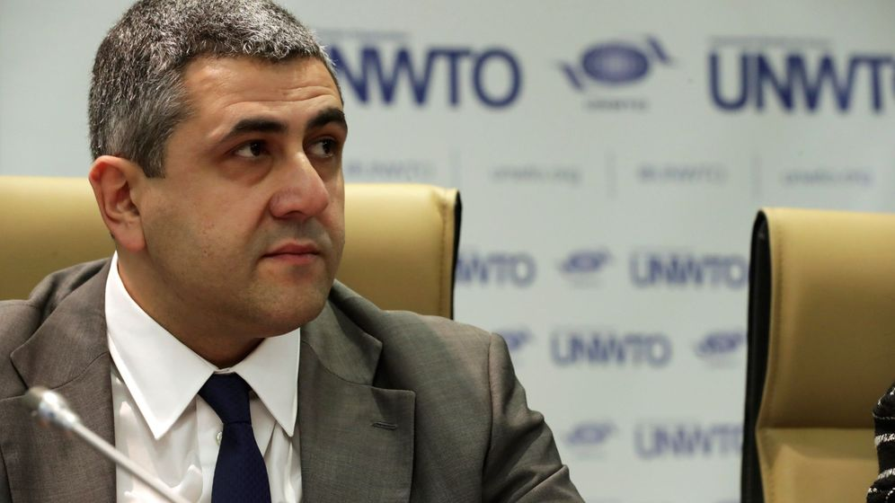 Foto: El secretario general de la OMT, Zurab Pololikashvili, presenta los resultados de turismo mundial de 2017 | Foto: EFE