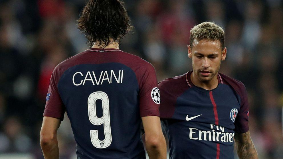 La verdadera historia del enfado entre Neymar y Cavani (no fue para tanto)