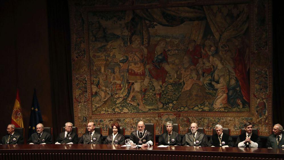 Foto: Imagen de archivo de los miembros del TC. (EFE)