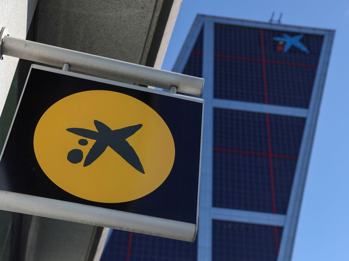 Foto: Logo de CaixaBank. (Reuters)