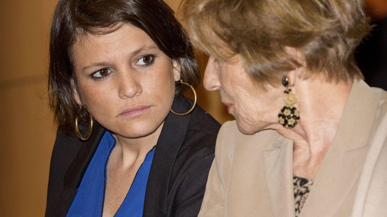Zorreguieta junto a su madre en una foto de archivo. (Cordon)