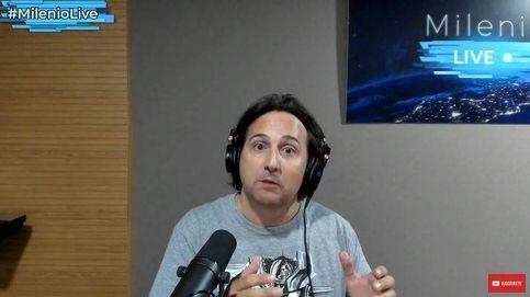 Iker Jiménez se moja sobre Miguel Bosé y su teoría del coronavirus en 'Milenio Live'