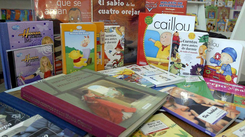 Foto: Libros infantiles.