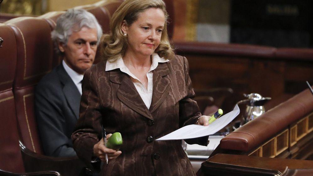 Foto: La vicepresidenta tercera del Gobierno y ministra de Asuntos Económicos y Transformación Digital, Nadia Calviño. (EFE)