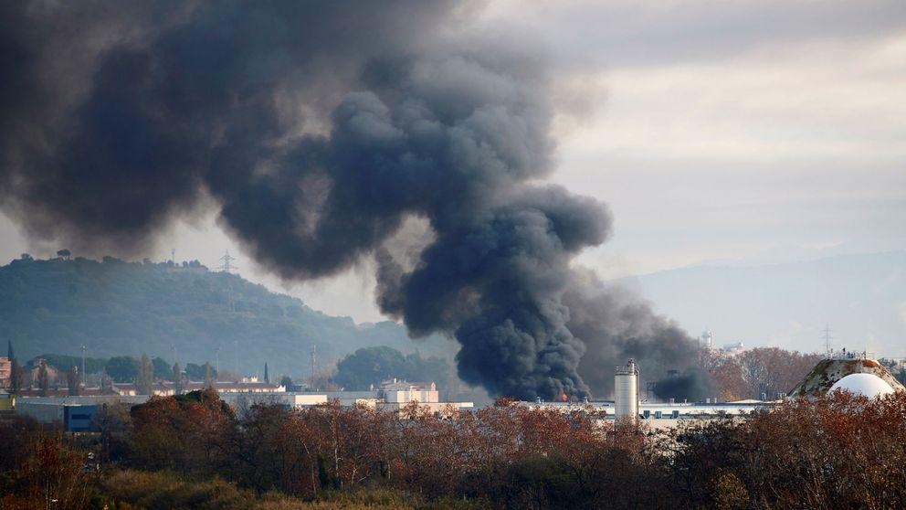 La empresa de residuos que se incendió en Barcelona tenía 2 multas por incumplimiento