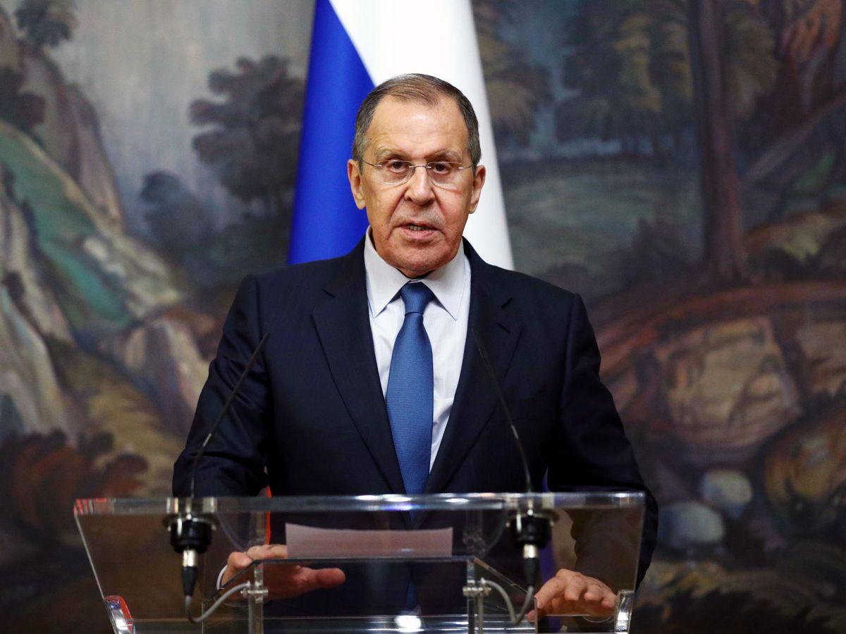 Foto: El ministro de Exteriores de Rusia, Sergei Lavrov. (EFE)