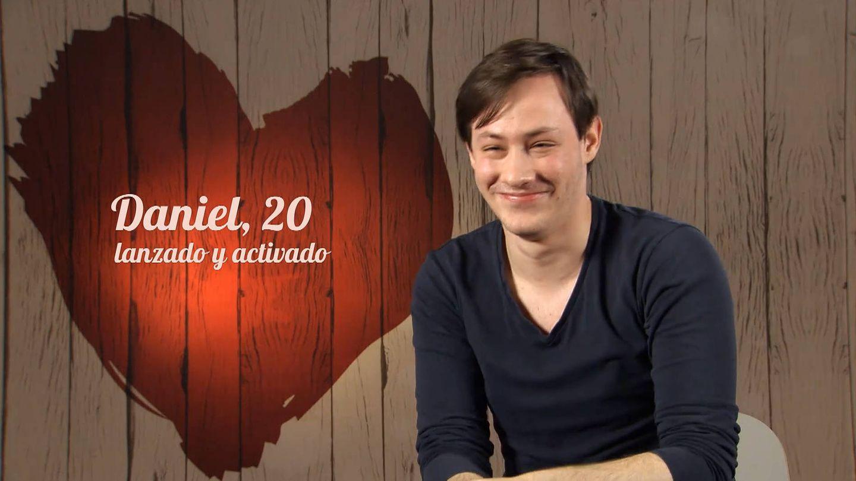 Daniel, la cita de Jay en 'First Dates'. (Mediaset)