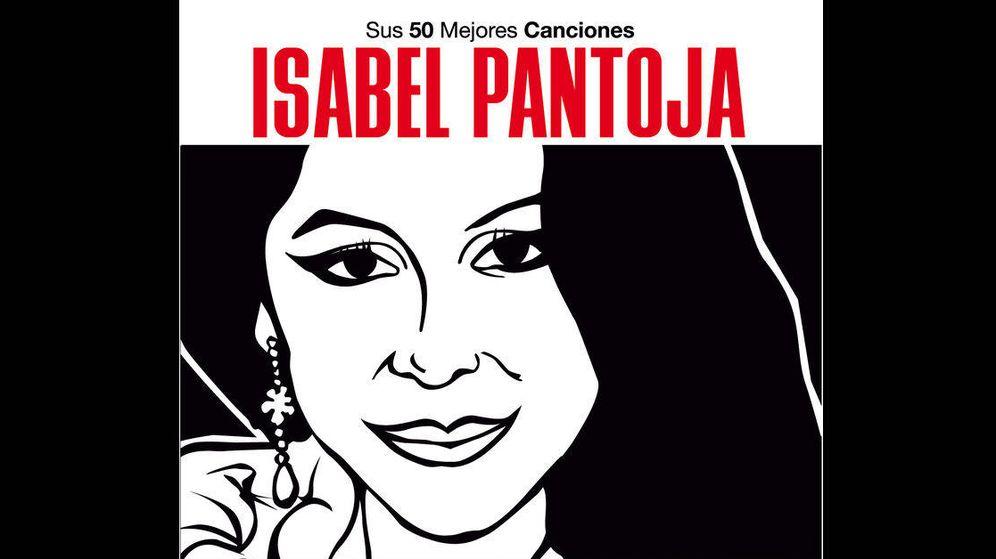 Foto: Portada de un recopilatorio de Isabel Pantoja (iTunes)