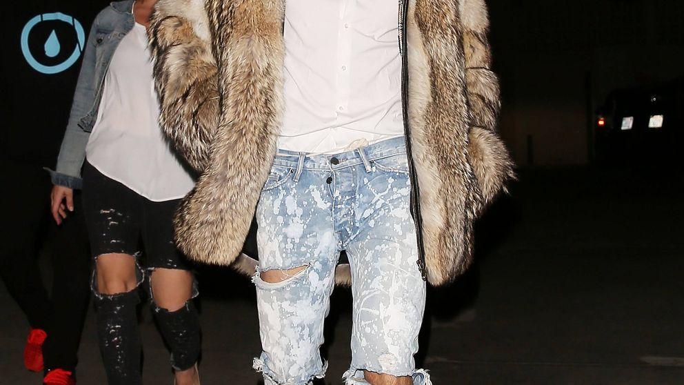 Justin Bieber está de nuevo en el punto de mira de PETA por un abrigo de piel
