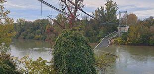Post de Se derrumba un puente cerca de Toulouse (Francia) y varios vehículos caen al río Tarn
