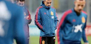 Post de El interrogante de Luis Enrique en una nueva convocatoria de la Selección