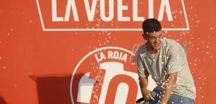 Post de El coche del Euskadi Murias se estrella antes de la primera etapa de la Vuelta