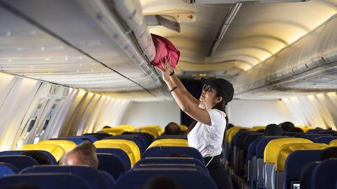 Las aerolíneas te multarán si no puedes meter tu equipaje en la cabina del avión