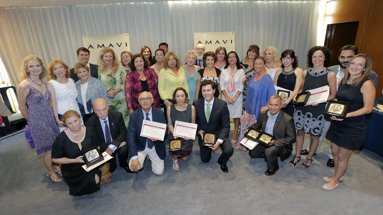 Foto: Noche de premios con sabor a vino para Nur de Jordania y Pilar Medina Sidonia