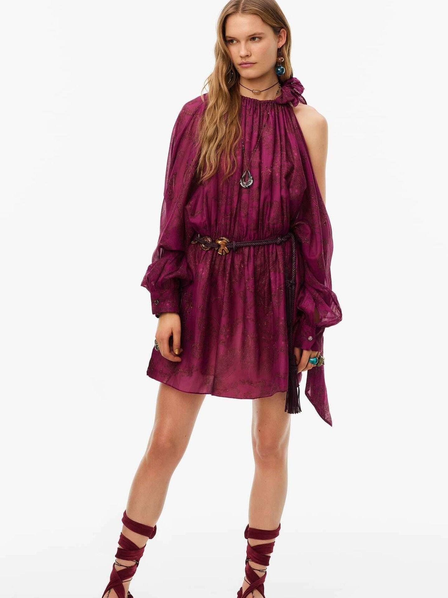 El vestido de Zara. (Cortesía)