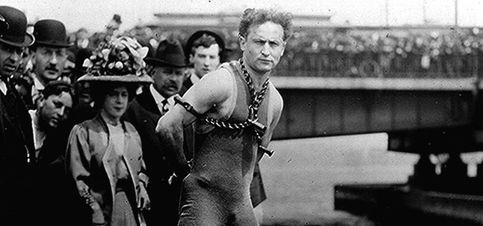 Foto: Houdini, escapista, ilusionista y maestro de estafadores