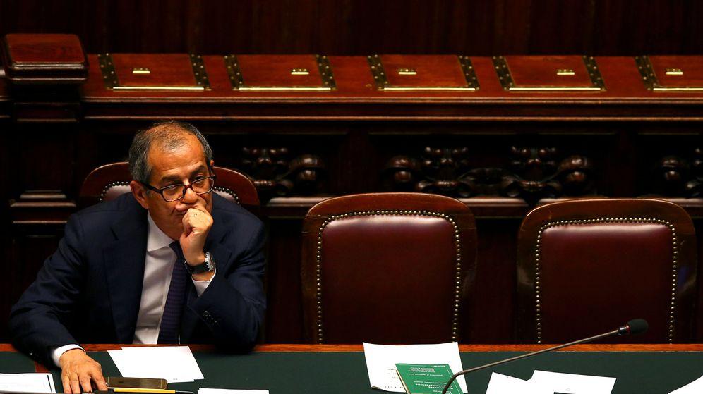 Foto: Giovanni Tria, ministro de Finanzas italiano. (Reuters)
