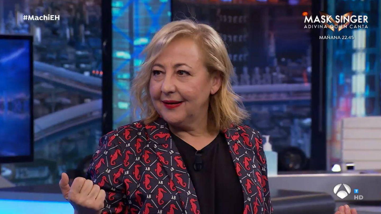 Carmen Machi, en 'El hormiguero'. (Antena 3)
