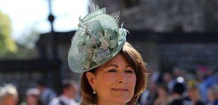Post de Carole Middleton, 'envidiada' en las redes sociales por su figura