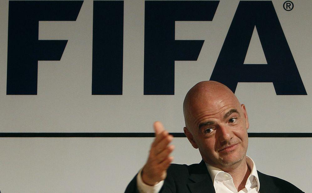Foto: En la imagen, Gianni Infantino, presidente de la FIFA. (EFE)