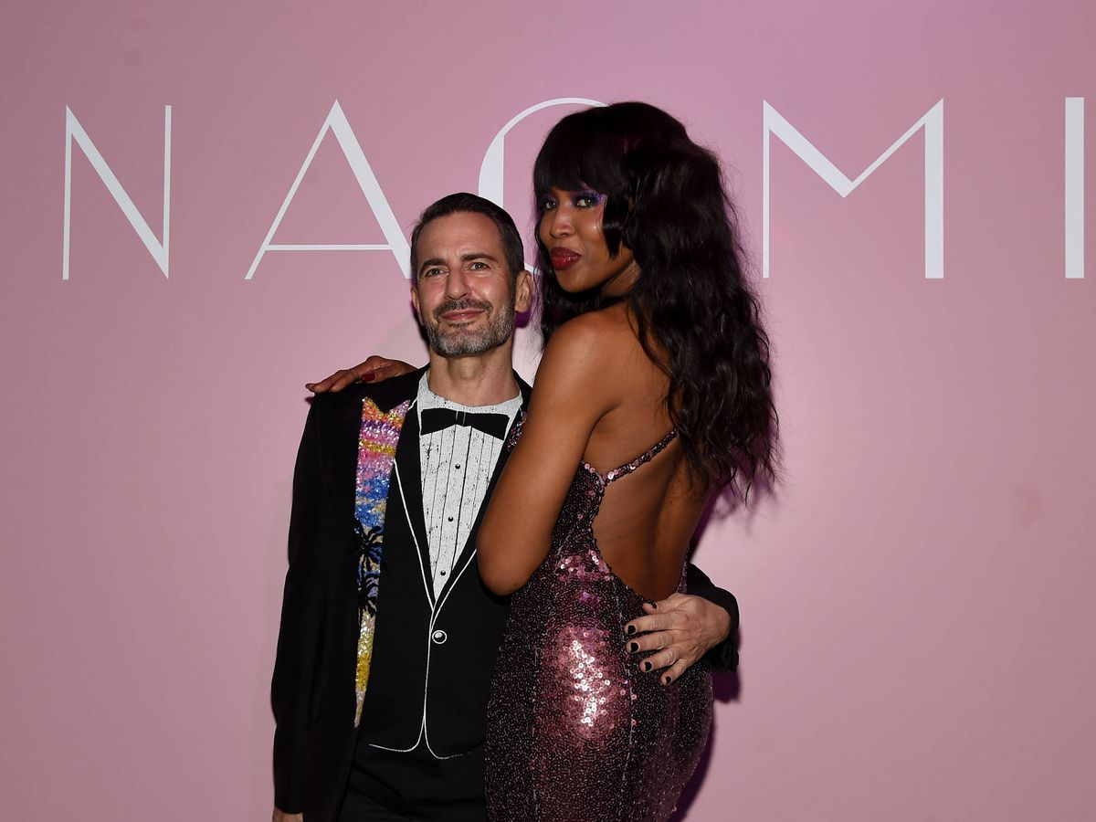 Foto: Marc Jacobs y Naomi Campbell. (Getty)