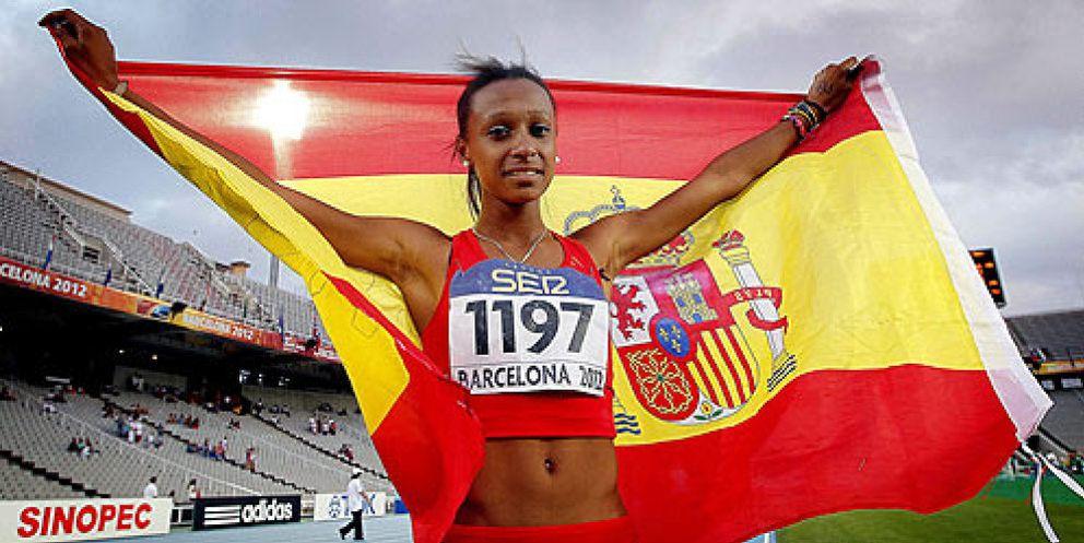 Mundial de atletismo la se orita chuminola la nueva chica de oro del atletismo espa ol - Las chicas de oro espana ...
