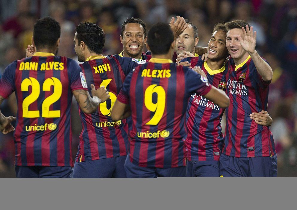 Foto: El Barcelona de las rotaciones quiere continuar haciendo historia en la Liga.