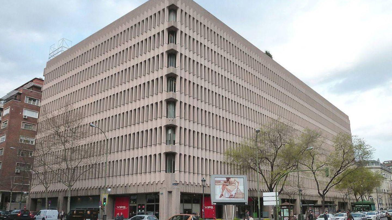Exterior del Edificio Beatriz en Madrid.
