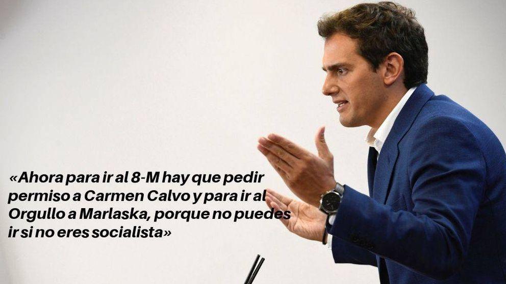 Las 15 frases de Albert Rivera en el debate de investidura sobre el 'plan Sánchez'