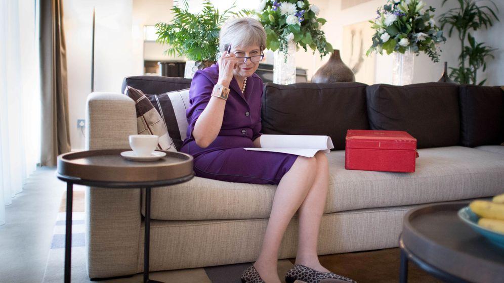 Foto: La exlíder 'tory' Theresa May. (Reuters)