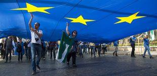 Post de El amor y el odio a la UE recorren las calles de Roma